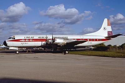 ZP-CBZ | Lockheed L-188C Electra | LAP - Líneas Aéreas Paraguayas