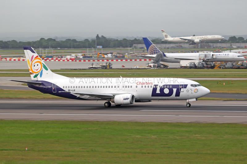 SP-LLE   Boeing 737-45D   LOT Charters