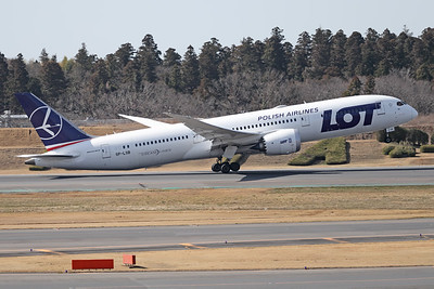 SP-LSB | Boeing 787-9 | LOT Polish Airlines