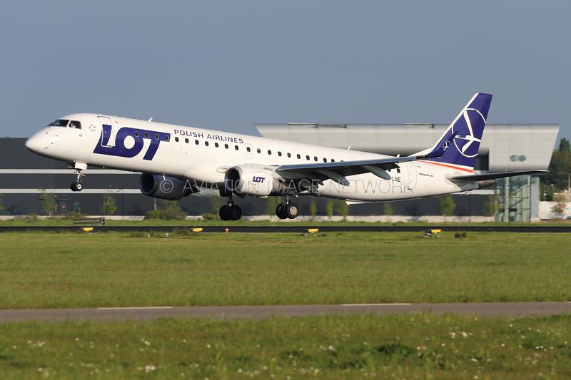 SP-LNE | Embraer ERJ-195LR | LOT Polish Airlines