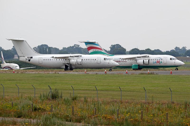 P4-GIU | EI-RJN | Avro RJ85 | LaMia | CityJet