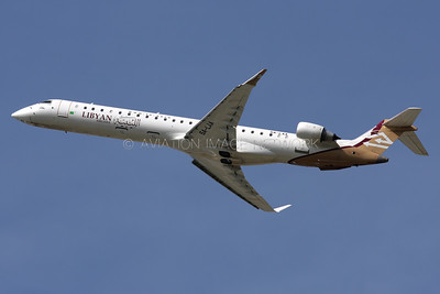 5A-LAA | Bombardier CRJ-900 | Libyan Arab Airlines