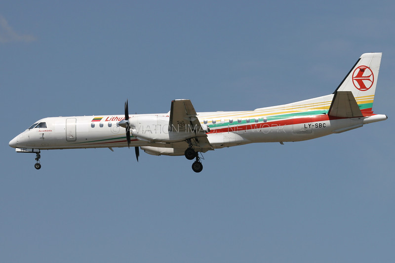 LY-SBC   Saab 2000   Lithuanian Airlines