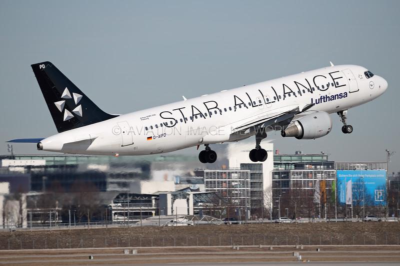 D-AIPD | Airbus A320-214 | Lufthansa