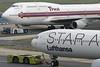 D-AIHC | HS-TGG | Airbus A340-642 | Boeing 747-4D7 | Lufthansa | Thai Airways