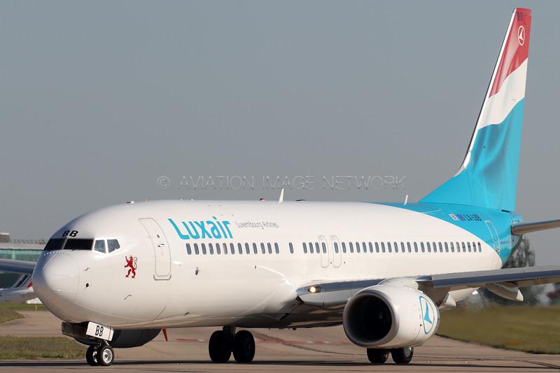 LX-LBB   Boeing 737-86J   Luxair