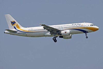 XY-AGO | Airbus A320-214 | MAI - Myanmar Airways International