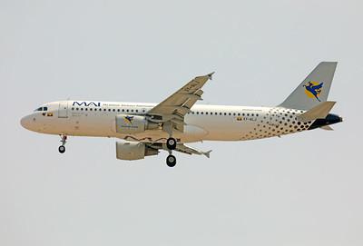 XY-ALJ   Airbus A320-214   MAI - Myanmar Airways International