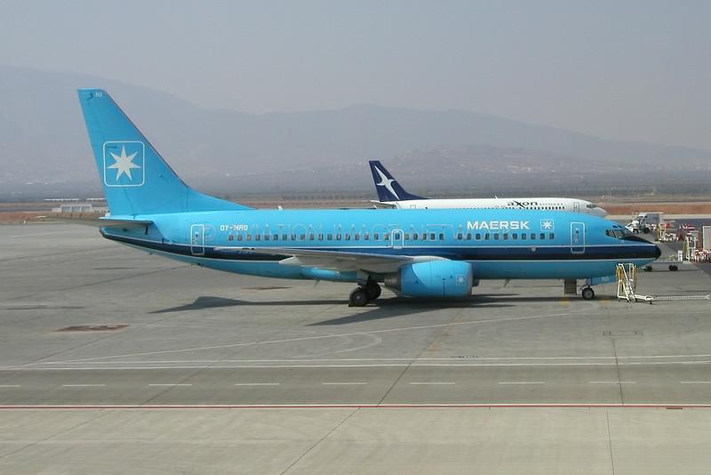 OY-MRG | Boeing 737-7L9 | Maersk Air