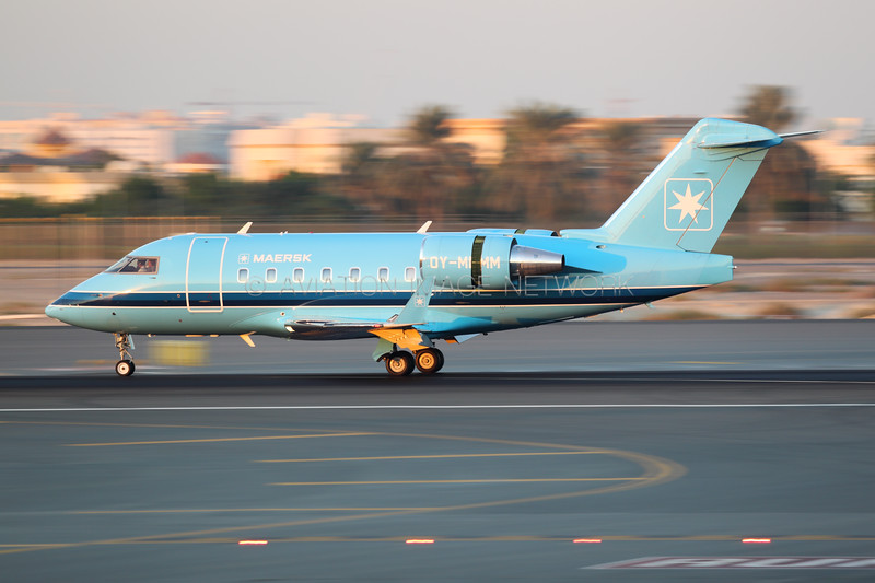 OY-MMM | Bombardier Challenger 604 | Maersk Air