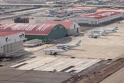 EP-MHM | Airbus A300B2K-3C | EP-MNG | Airbus A300B4-603 | EP-MNP | Airbus A310-304 | EP-MNB | Boeing 747-422 | Mahan Air