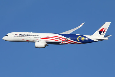 9M-MAF   Airbus A350-941   Malaysia Airlines