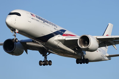 9M-MAB | Airbus A350-941 | Malaysia Airlines