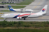 9M-MLJ | Boeing 737-8FZ | Malaysia Airlines