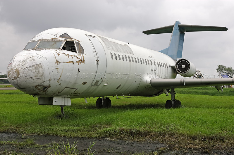 PK-MGH | Fokker F28-4000 | Merpati Nusantara Airlines