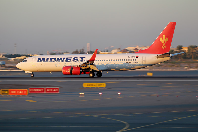 SU-MWE | Boeing 737-8Q8 | Midwest Airlines (Egypt)