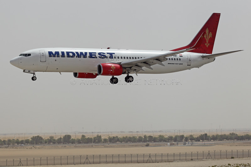 SU-MWF | Boeing 737-8Q8 | Midwest Airlines (Egypt)