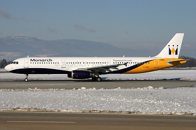 G-OZBL | Airbus A321-231 | Monarch Airlines