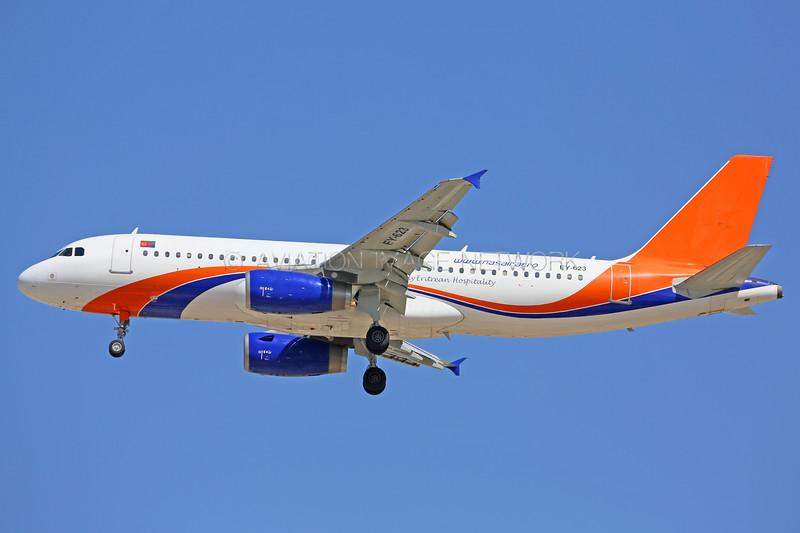 EY-623 | Airbus A320-231 | Nasair Eritrea