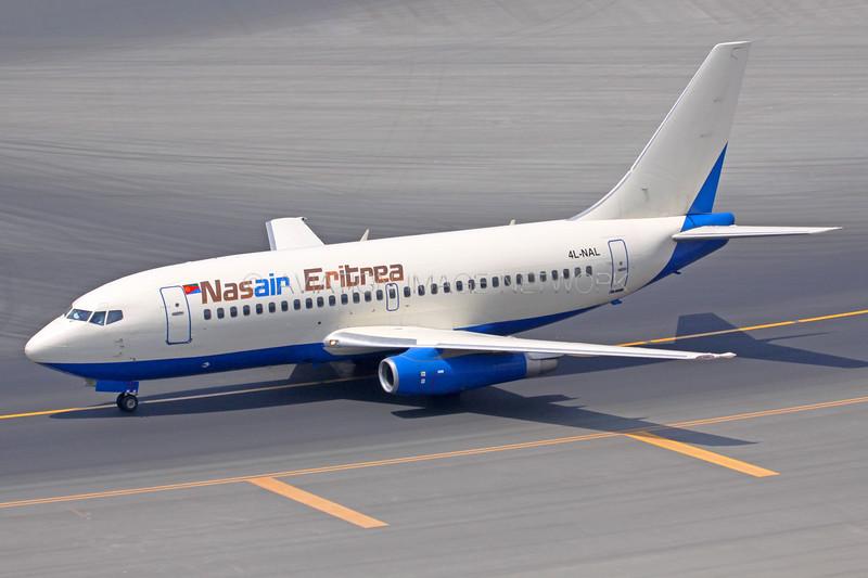 4L-NAL   Boeing 737-2Q8   Nasair Eritrea