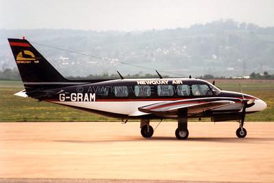 G-GRAM | Piper PA-31-350 Navajo Chieftain | Newquay Air