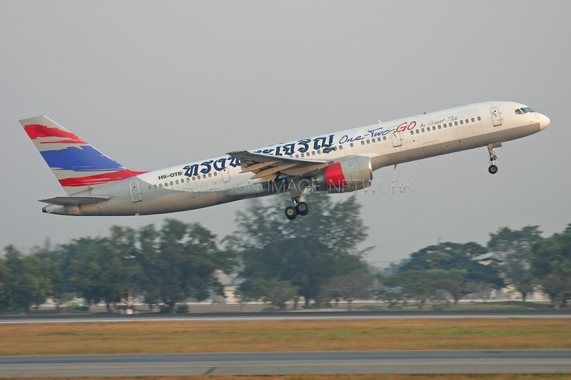 HS-OTB | Boeing 757-236 | One-Two-GO Airlines