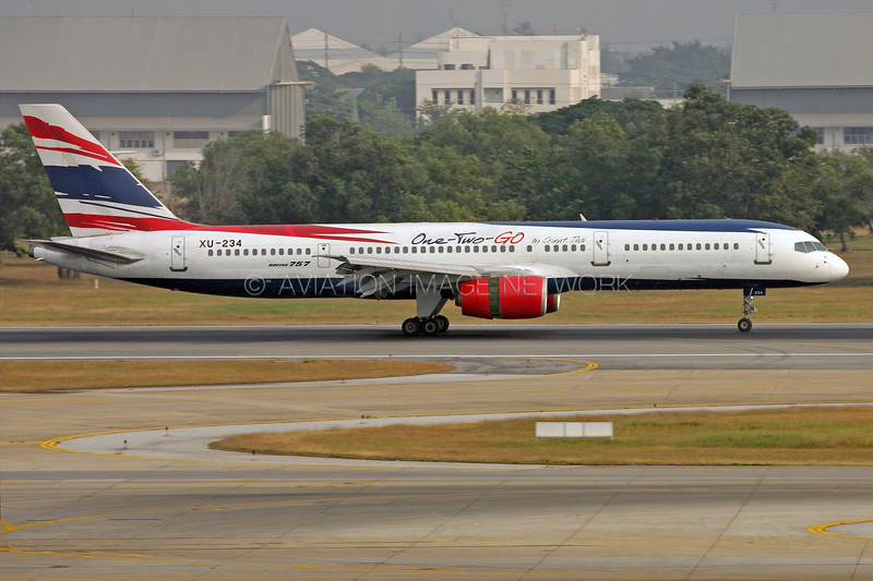 XU-234 | Boeing 757-2G5 | One-Two-GO Airlines