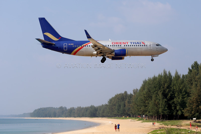 HS-BRB | Boeing 737-3TO | Orient Thai Airlines