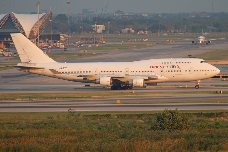 HS-STC | Boeing 747-412 | Orient Thai Airlines