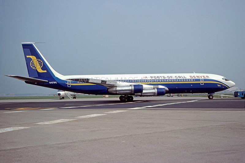 N457PC | Boeing 707-323B | Ports of Call
