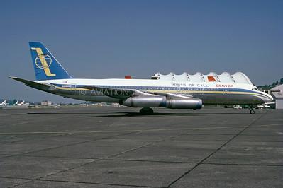 N8160C | Convair CV-990-30A-5 Coronado | Ports of Call