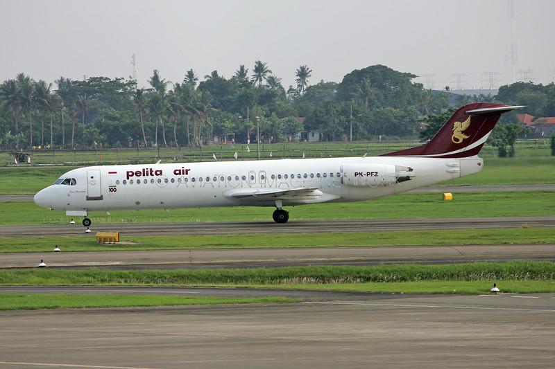 PK-PFZ | Fokker 100 | Pelita Air