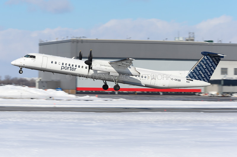 C-GKQB | Bombardier Dash 8-Q402 | Porter Airlines