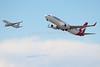 VH-VXN | Boeing 737-838 | Qantas | VH-VIL | Boeing 737-8FE | Virgin Australia