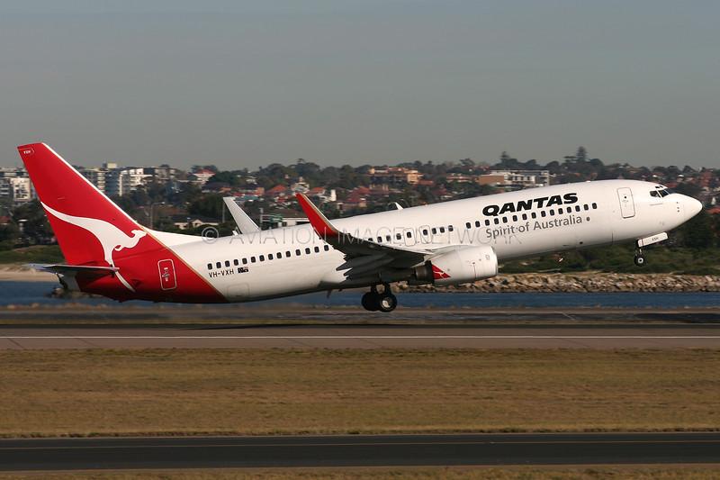 VH-VXH | Boeing 737-838 | Qantas