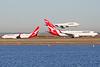 VH-VZQ | VH-VZW | VH-OJU | Boeing 737-838 | Boeing 747-438 | Qantas