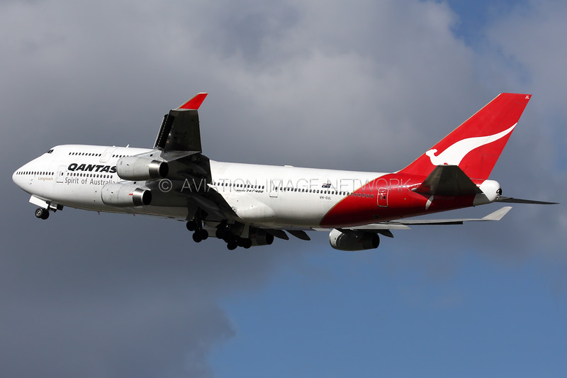 VH-OJL | Boeing 747-438 | Qantas