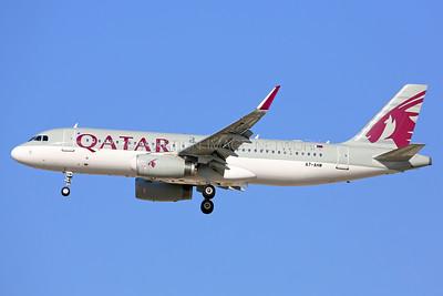 A7-AHW   Airbus A320-232   Qatar Airways