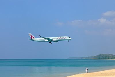 A7-ALJ | Airbus A350-941 | Qatar Airways