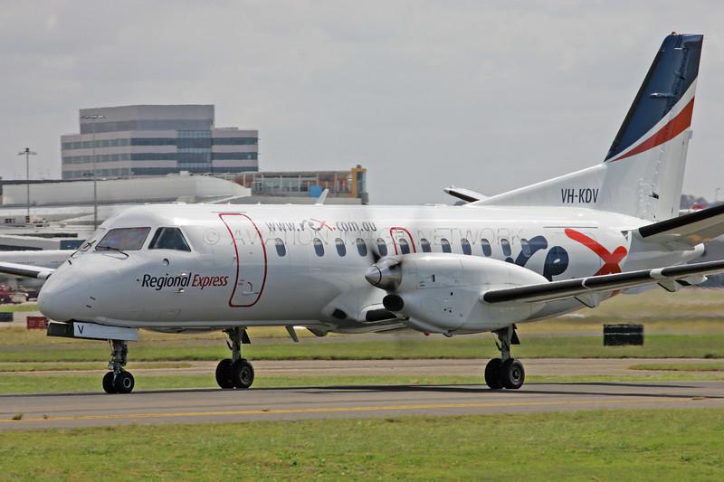 VH-KDV | Saab 340B | REX - Regional Express