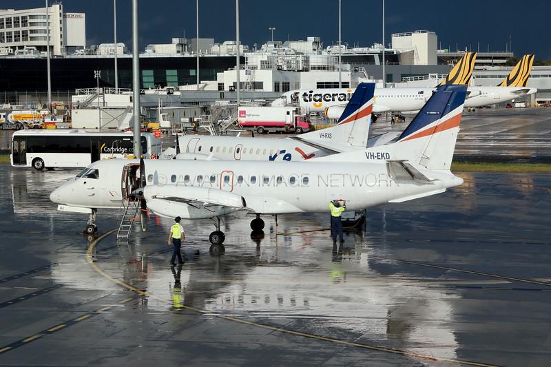 VH-EKD   VH-RXS   Saab 340B   REX - Regional Express