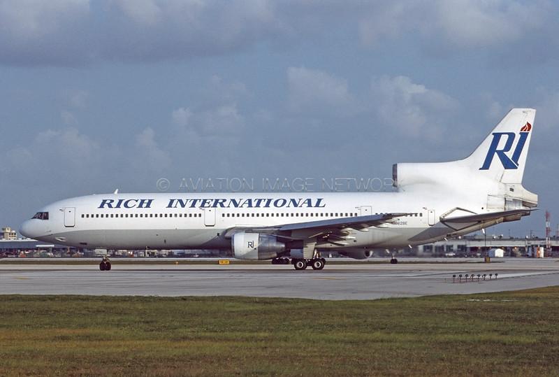 N762BE | Lockheed L1011-1 TriStar | Rich International Airways