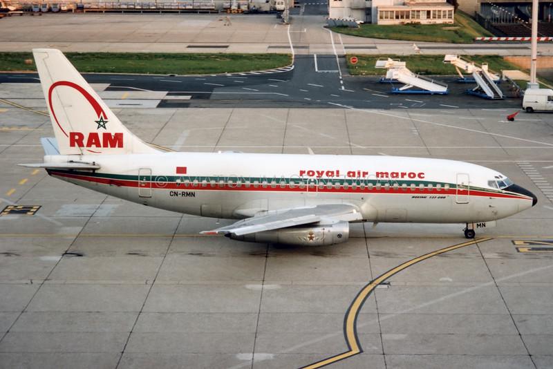 CN-RMN | Boeing 737-2B6C(A) | Royal Air Maroc