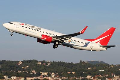 VQ-BRF   Boeing 737-808   Royal Flight