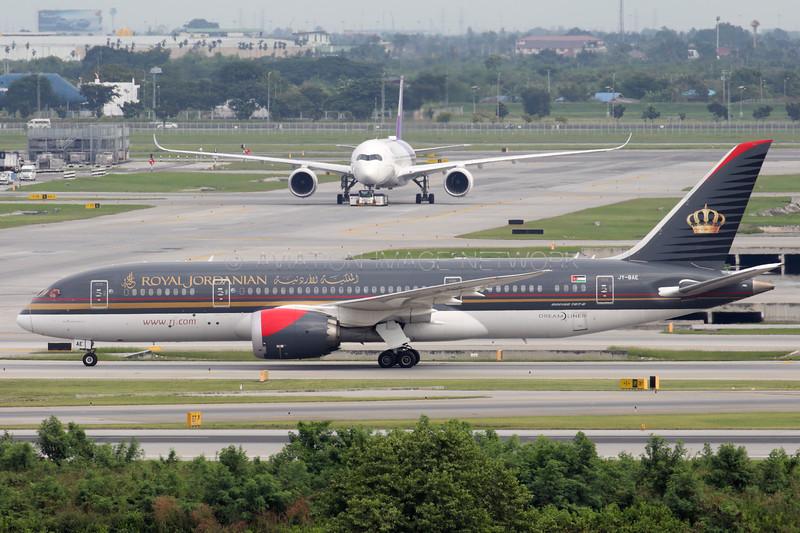 JY-BAE   Boeing 787-8   Royal Jordanian