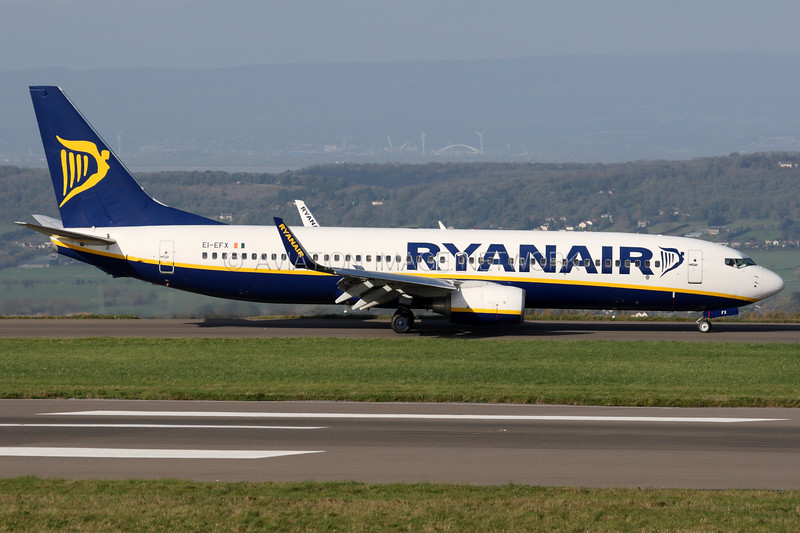 EI-EFX | Boeing 737-8AS | Ryanair