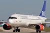 OY-KAU   Airbus A320-232   SAS - Scandinavian Airlines