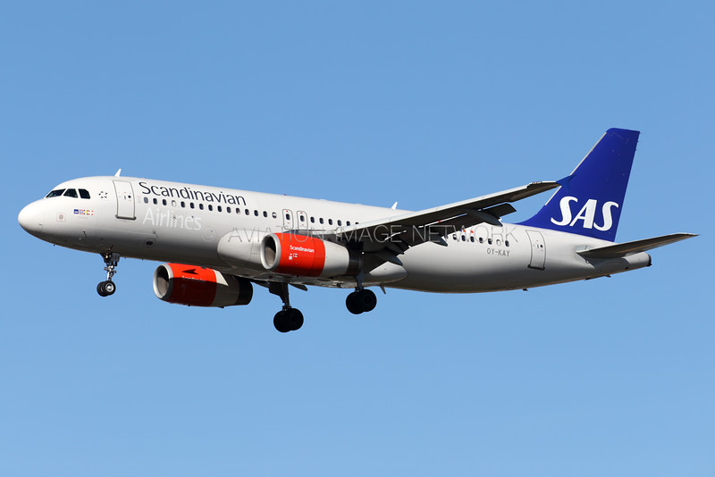 OY-KAY   Airbus A320-232   SAS - Scandinavian Airlines