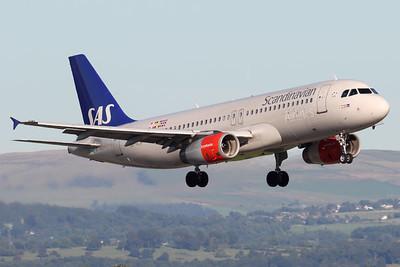 SE-RJF | Airbus A320-232 | SAS - Scandinavian Airlines