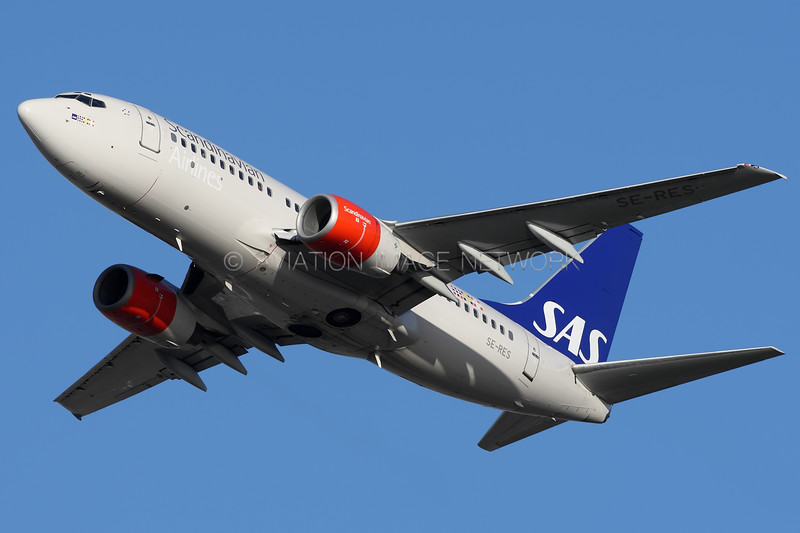 SE-RES | Boeing 737-7BX | Scandinavian Airlines